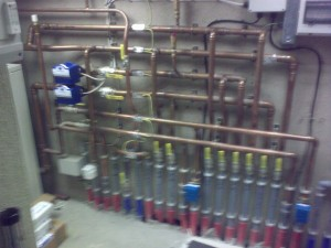 Pipework for Ground source heat pumps